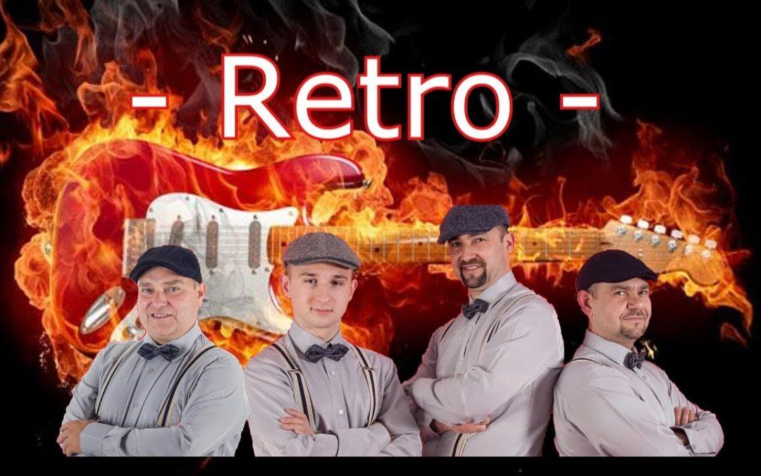 Zespół wesele RETRO BAND – Marsz weselny, akordeon, gitara, podziękowania, oczepiny